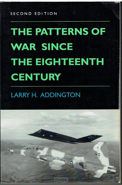 The patterns of war since the eighteenth