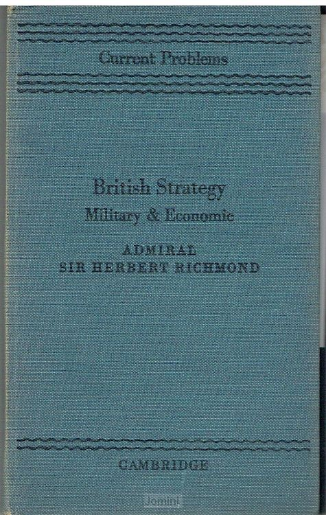 British Strategy, military and economic