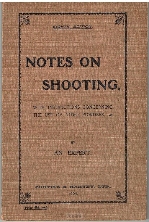Notes on shooting