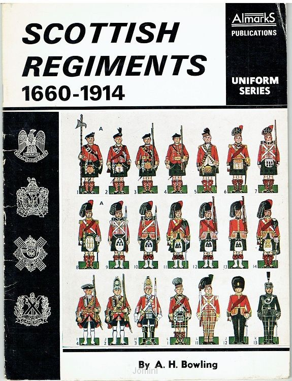 Scottish regiments, 1660-1914