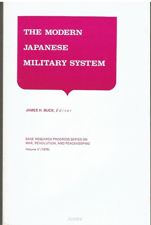 The modern Japanese military system