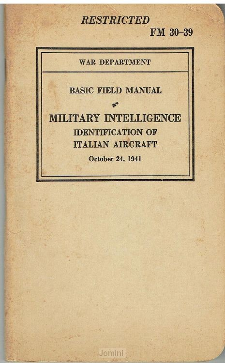 FM 30-39 (Military intelligence)