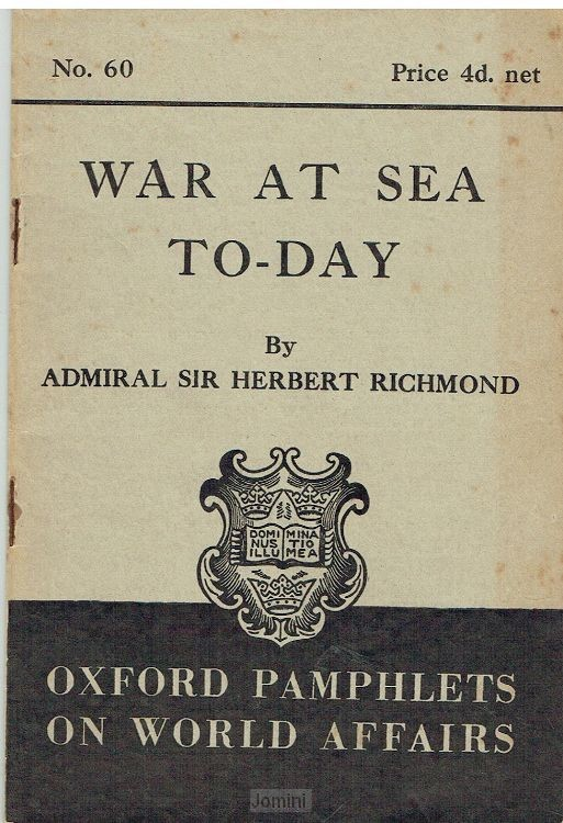 War at sea to-day