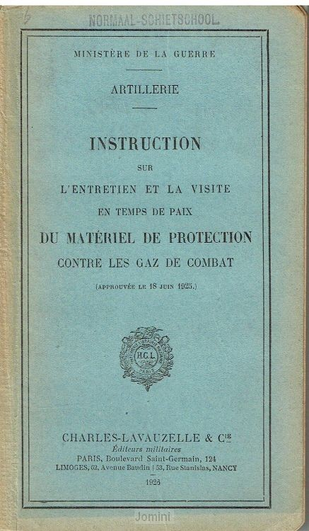 Instruction du material de protection co