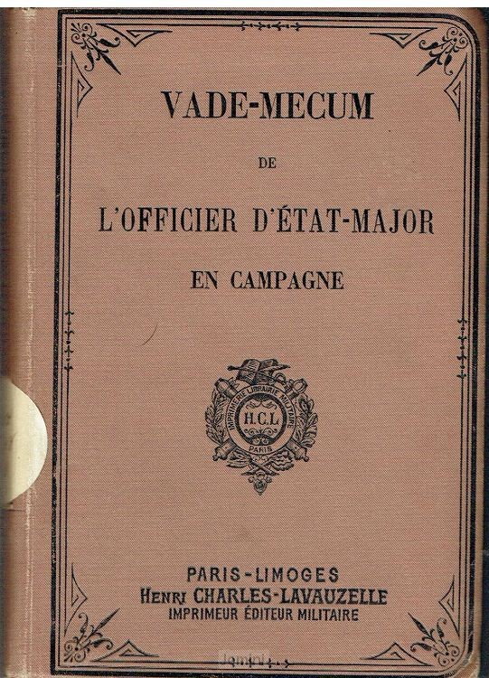 Vade-mecum de l'officier d'etat-major