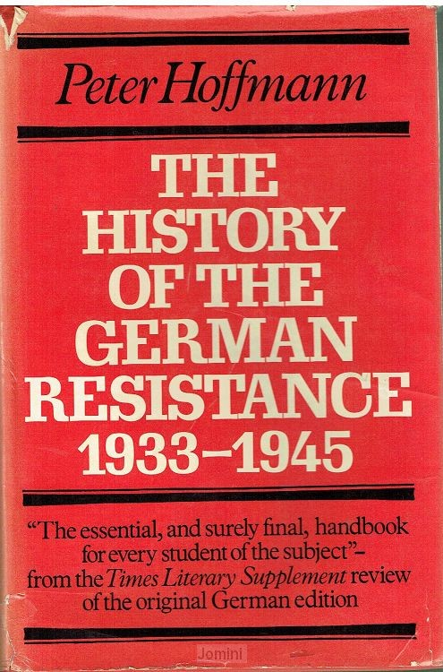 The history of the German resistance 193