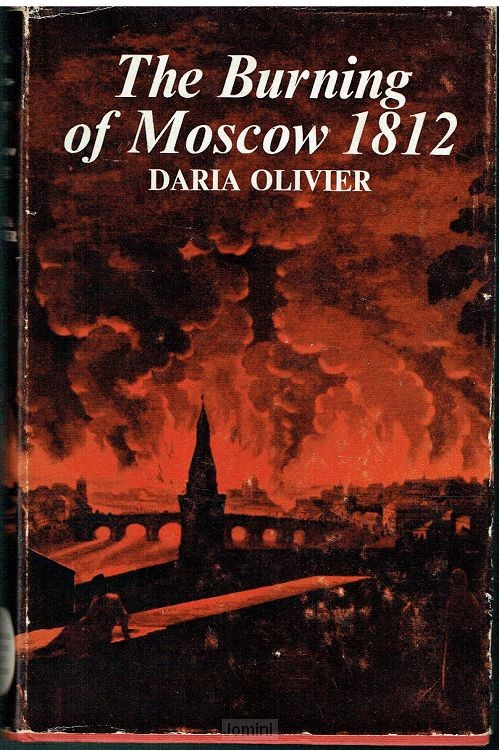 The burning of Moscow 1812