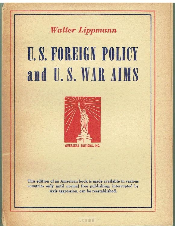 U.S. Foreign policy and U.S. war aims