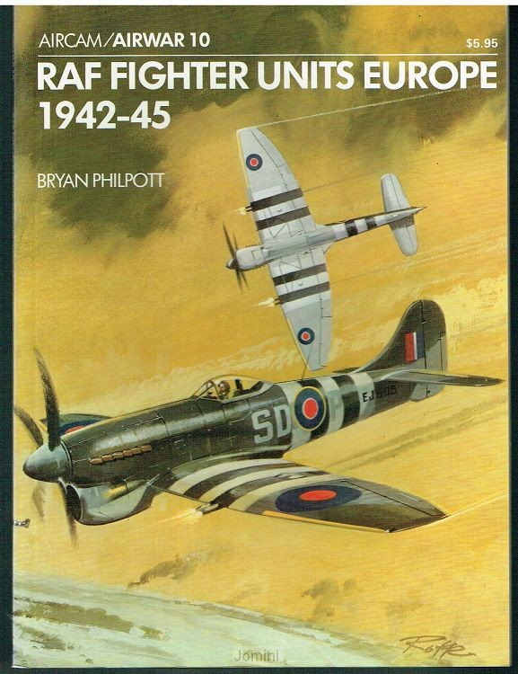 RAF Fighter Units Europe April 1942-45