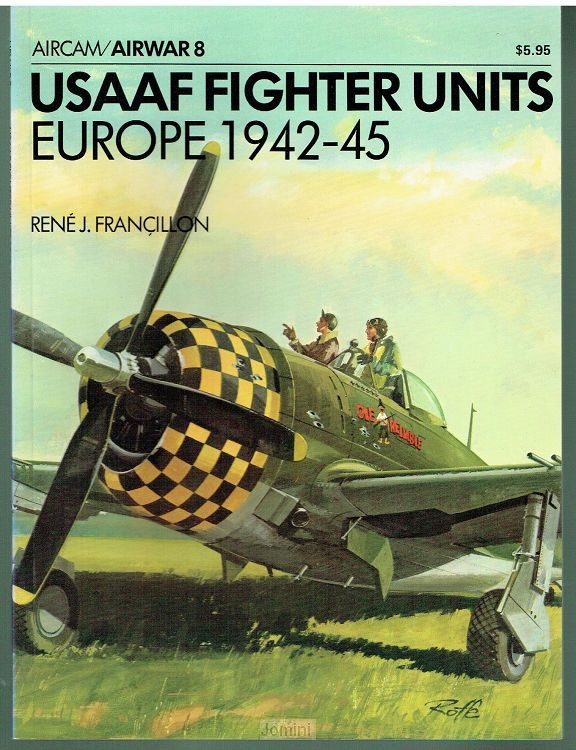 USAAF Fighter Units Europe 1942-45