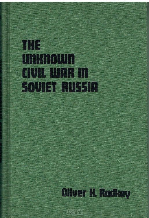 The unknown civil war in Soviet Russia