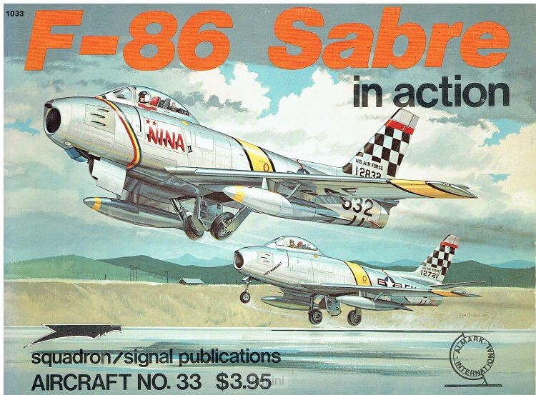 F-86 Sabre in Action