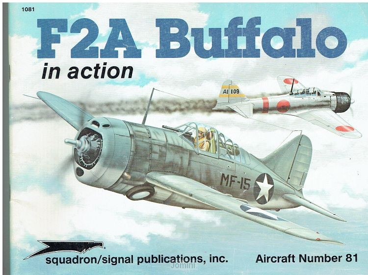 F2A Buffalo in action