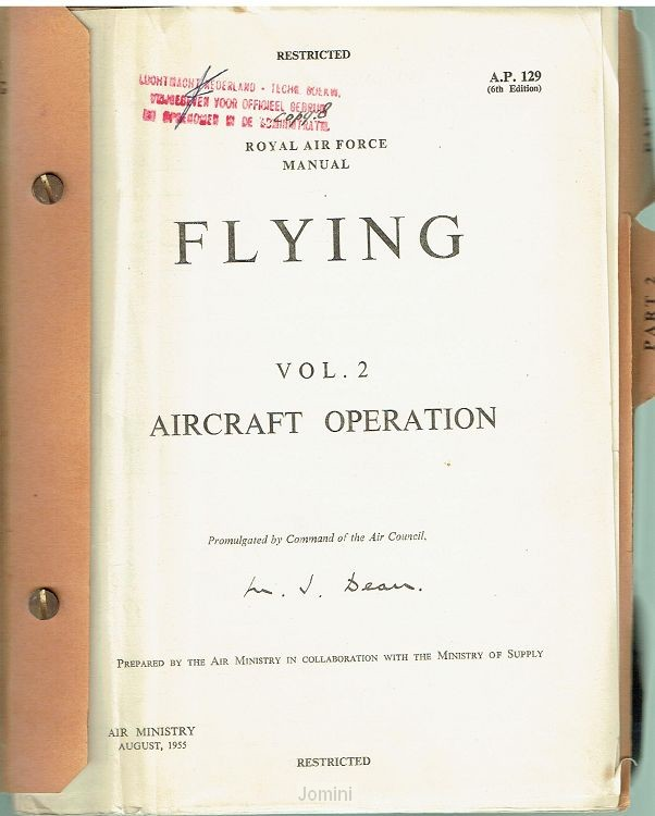 Royal Air force Manual Flying Vol. 2