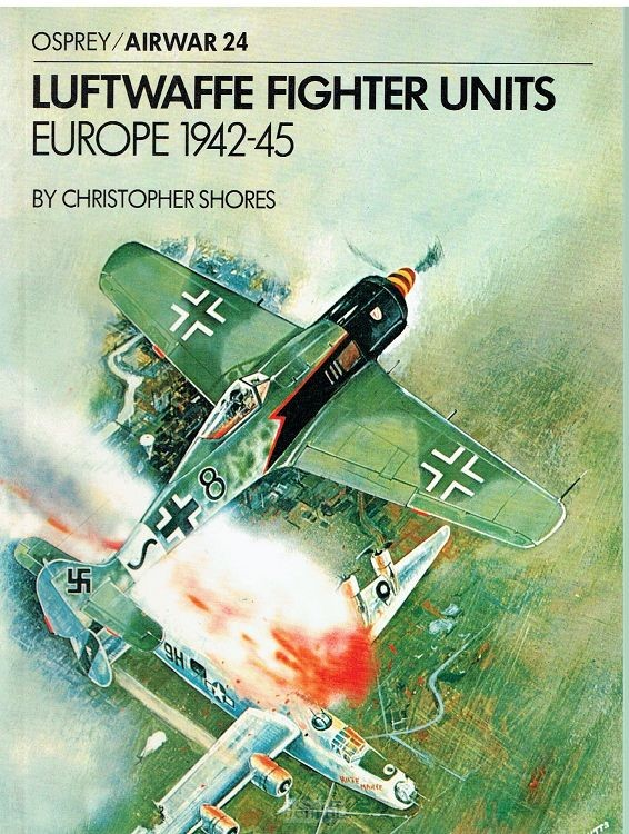 Luftwaffe fighter Units Europe 1942-1945