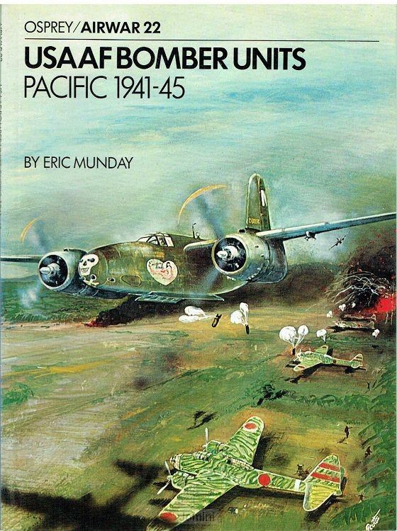 USAAF  bomber units Pacific, 1941-1945