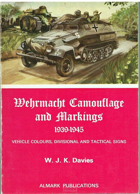 Wehrmacht camouflage and markings