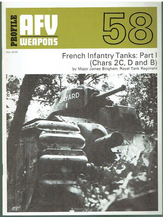 French Infantry tanks: Part 1