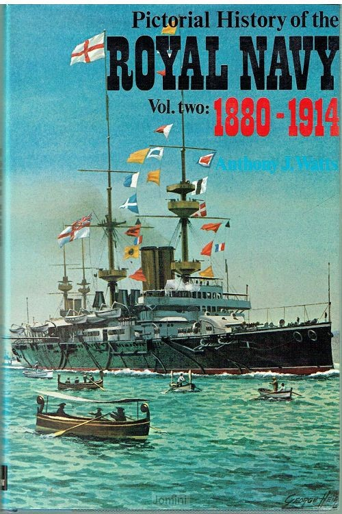 Pictorial history of the Royal Navy (2 v