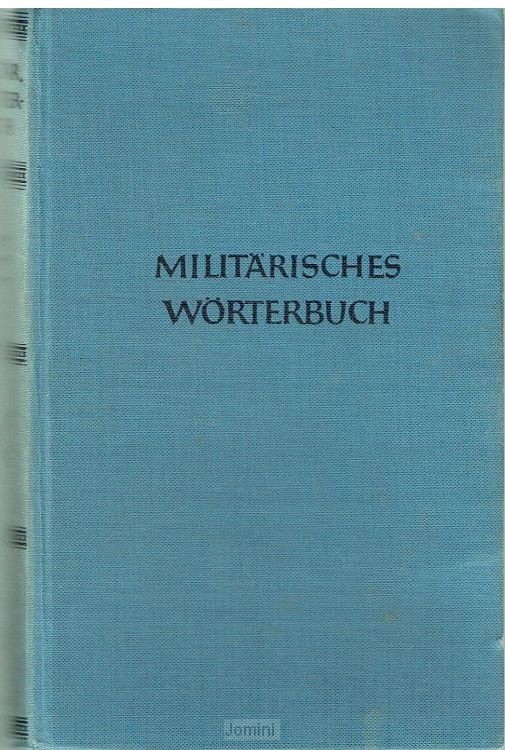 Militarisches Worterbuch