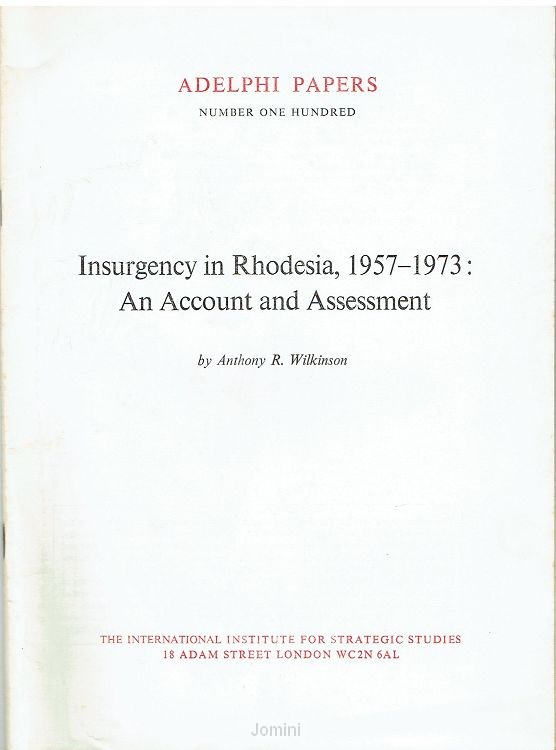 Insurgency in Rhodesia
