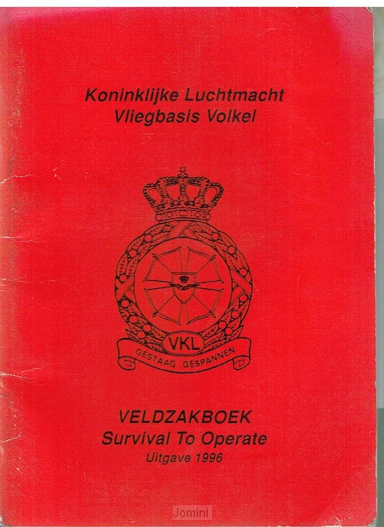 Veldzakboek Survival to operate